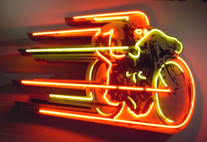 Motorcycle Neon